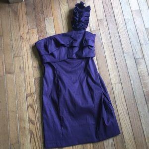 Deep Purple Dress